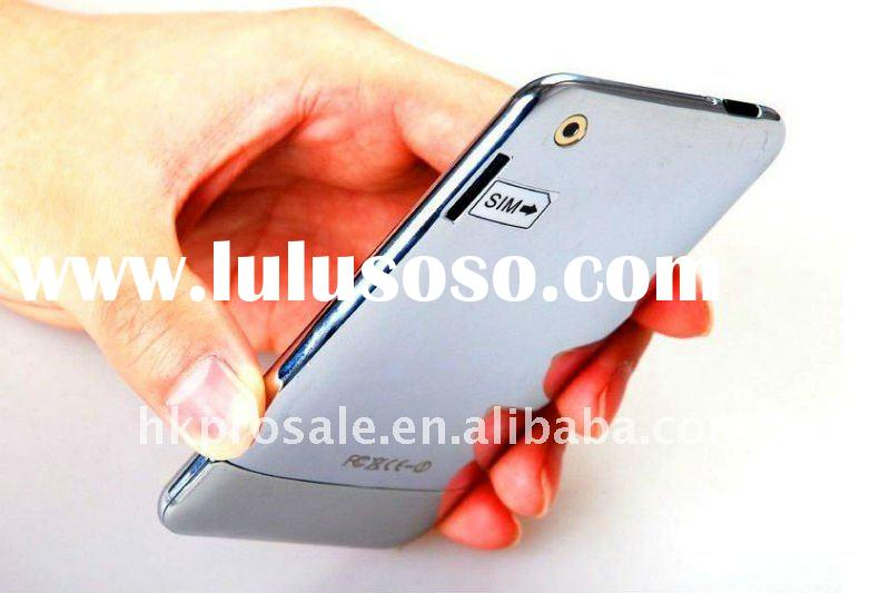Air No.1 Ultra Thin 3.5 inch Touch Screen 2GB Quad Band Single Card WiFi Java FM Unlocked Mobile Pho