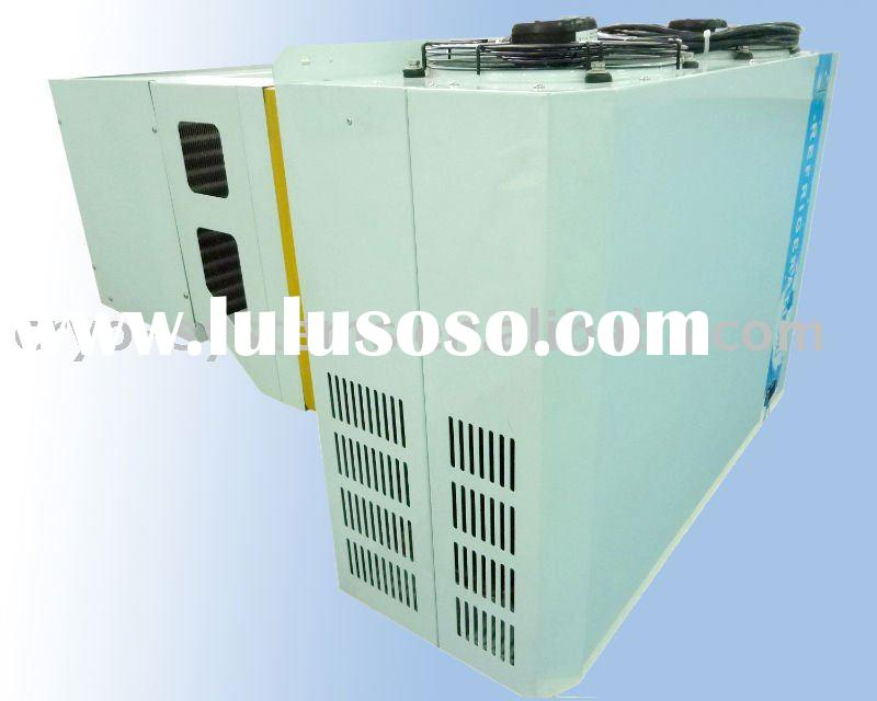 Air cooled condensing equipment for refrigerator cold storage room
