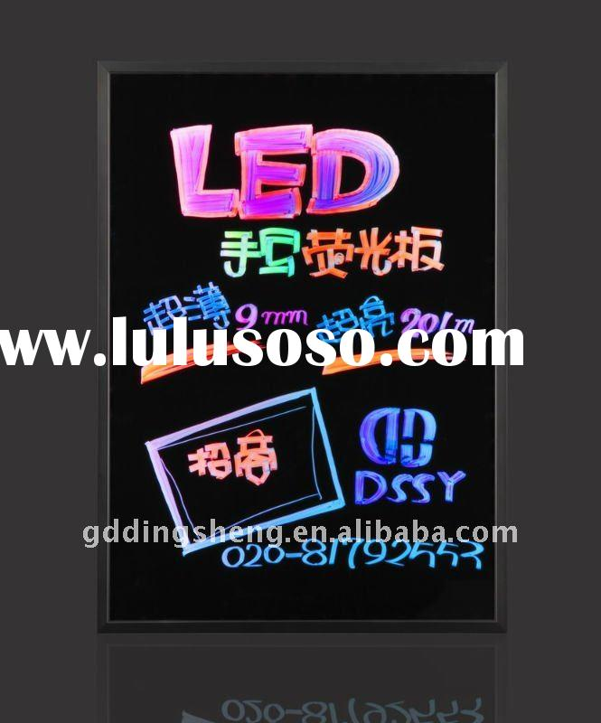 Alibaba Promotion Full Color Low Price LED Writing Board