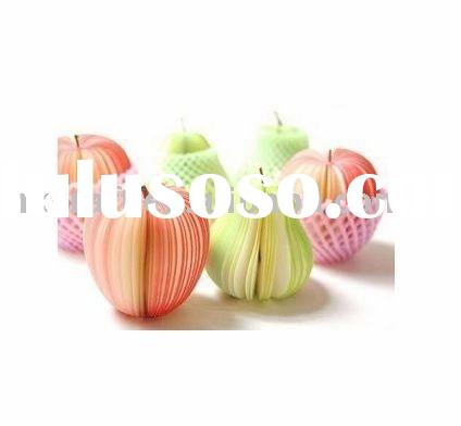All New Fruit Shaped Note Pad Scratchpad Post-it Paper Memo Pad