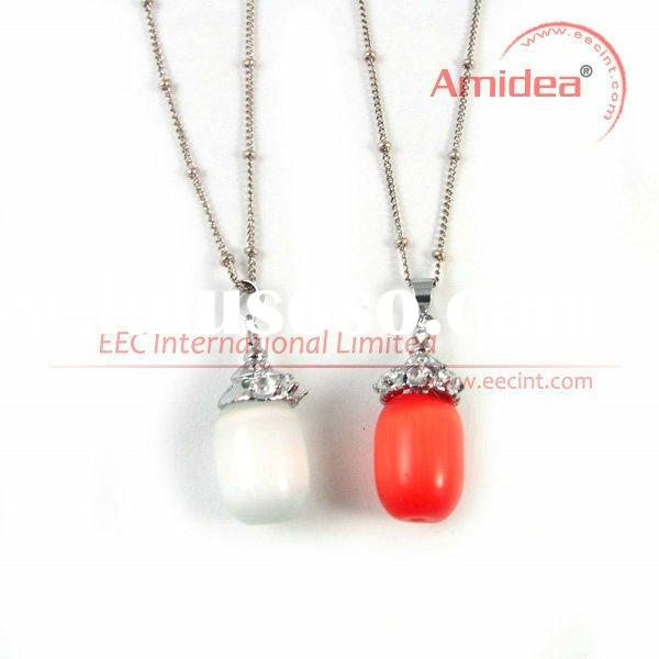 Alloy long necklace, alloy beads necklace, cheap necklaces and pendants EPN0057