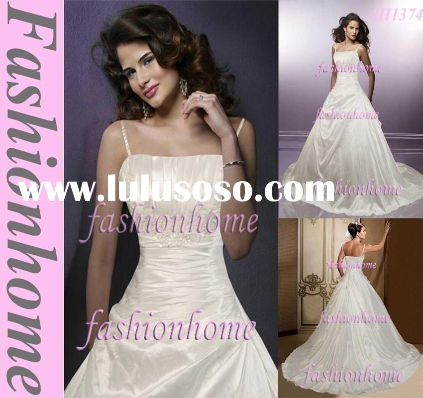 Attractive Sweet spaghetti strap crystal wedding dress sash AH1374