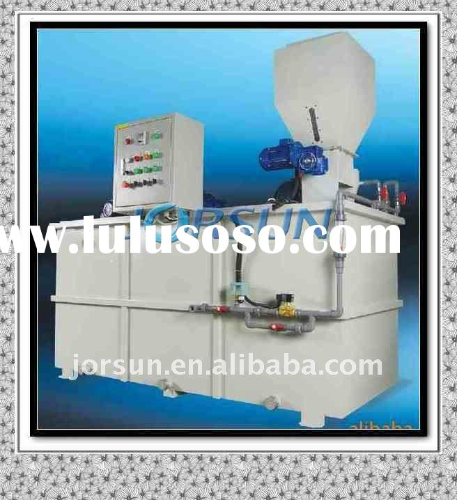 Automatic Polymer dosage system[Slaughter, poultry wastewater treatment]