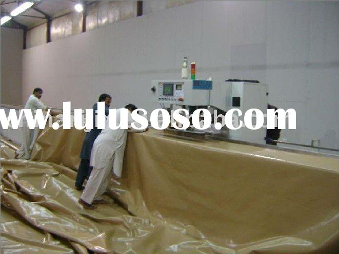 Automatic canvas high frequency welding machine