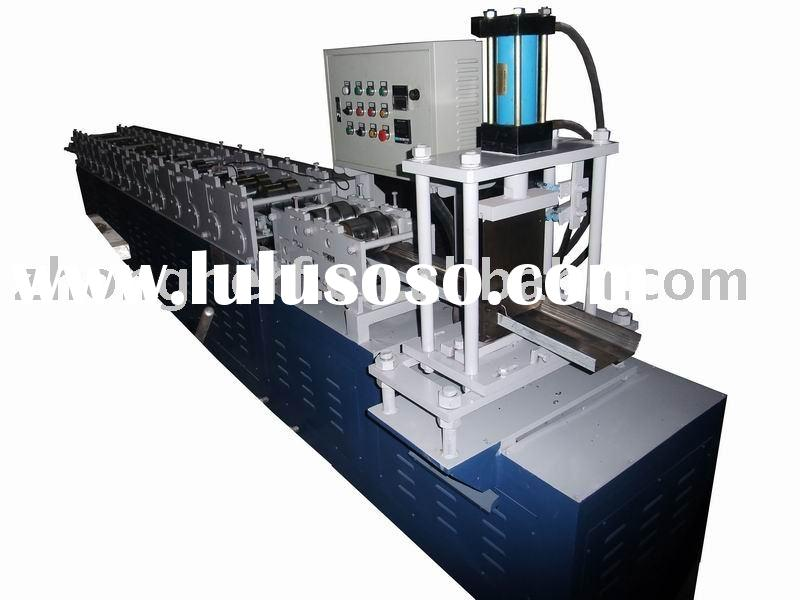 Automatic metal stud door frame cold roll forming machine