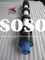 Belt conveyor return roller, rubber disc roller idler, rubber disk roller idler, rubber ring roller,
