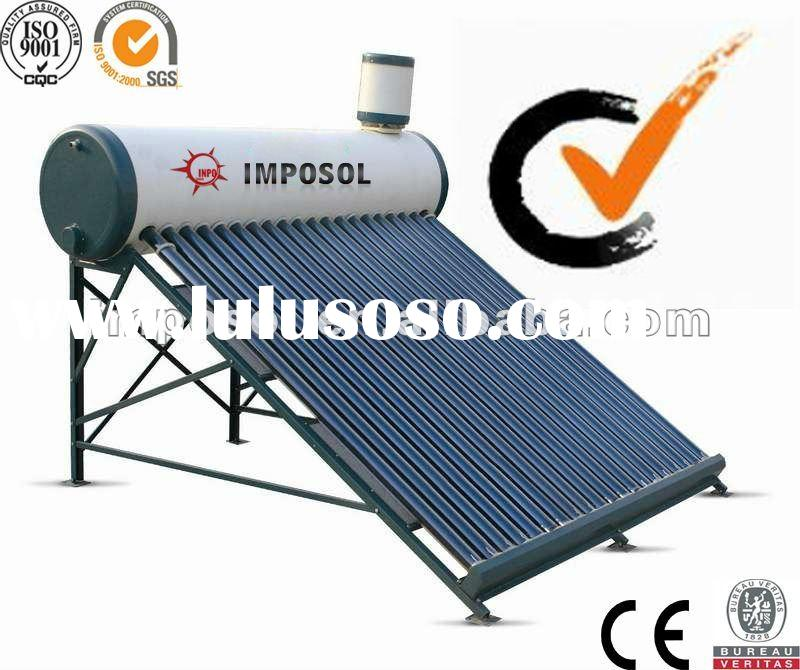 Best Sell-High Quality Non Pressurized Solar Water Heater/Low Pressure Solar Water Heater