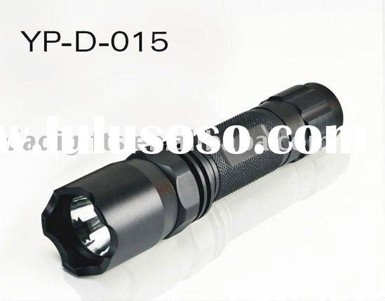 Black Police CREE Led High Power Flashlight