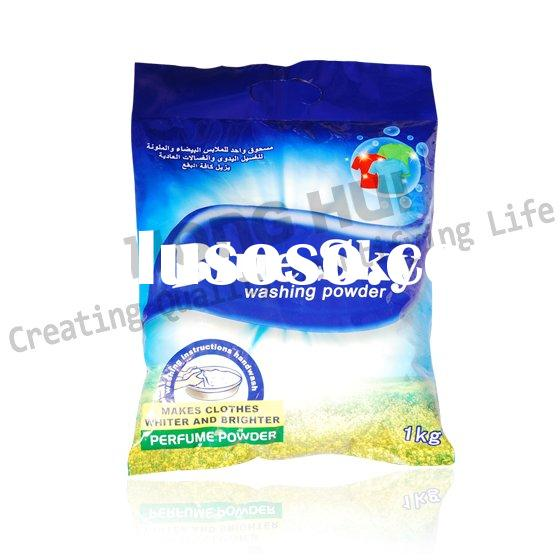 Blue sky 1kg laundry detergent powder, daily cleaning products