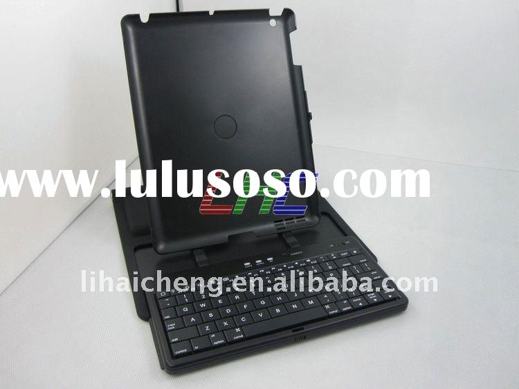 Bluetooth Wireless Keyboard Leather Case For iPad 2 ----360 degree rotate---