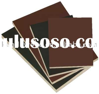 Brown or Black WBP High Quality 12-21mm Film Faced Plywood