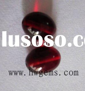 Cabochon synthetic ruby gems cubic zirconia,imitation stone