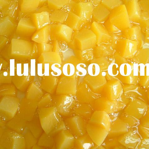 Canned Yellow Peach in Syrup