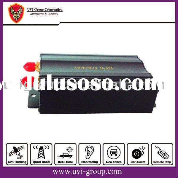 Car GPS Tracker Security Alarm System with Real-time Web Tracking