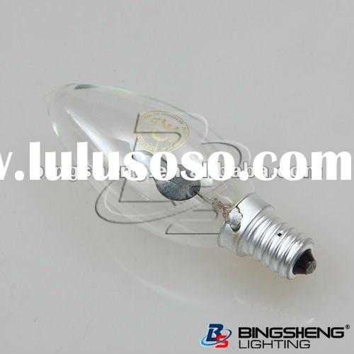 Cheap Flicker Flame Bulbs With C35 Candle E14 Base