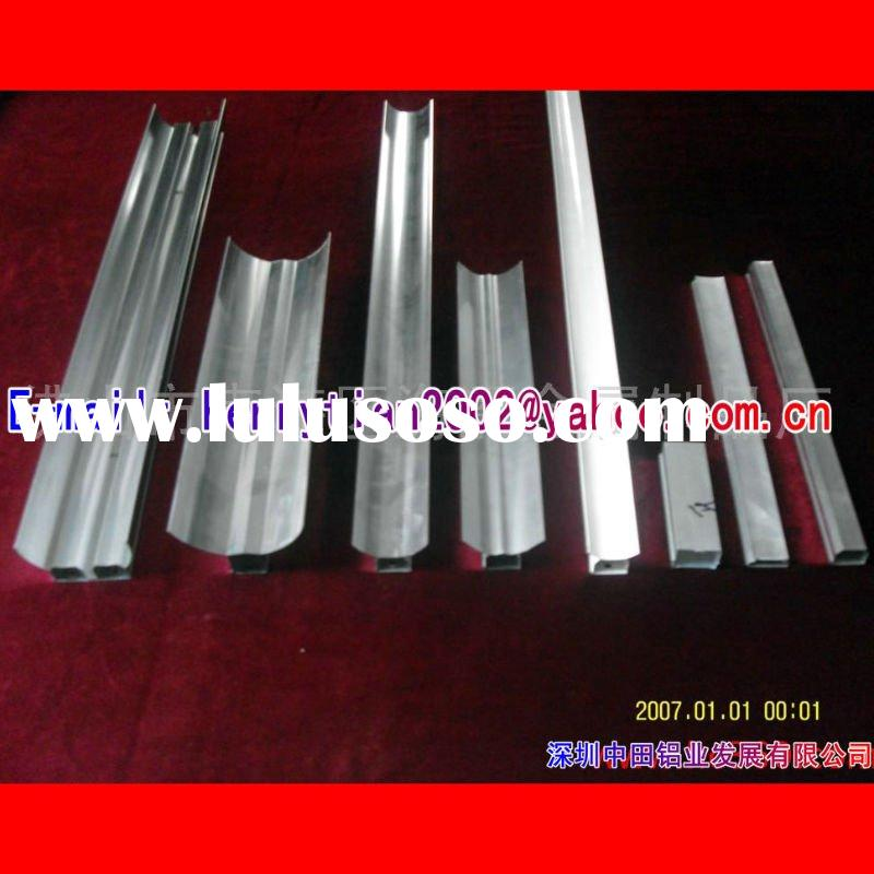 Cheapest factory price extruded aluminum frame+ raw material/anodize/powder coating+fabrication