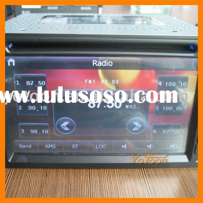 China 6.2'' Touch Screen 2 Din Car DVD Player / GPS(Map of Europe) / Ipod / DVB-T TV