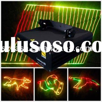 Christmas light RGY animation laser party light