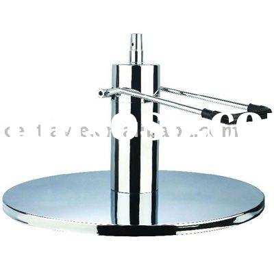 Chrome round base CP-0118 hydraulic styling chair parts salon equipment, salon furniture parts ,barb