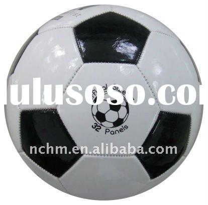 Classical White Black Panles High Quality Offical Match Training PU Football