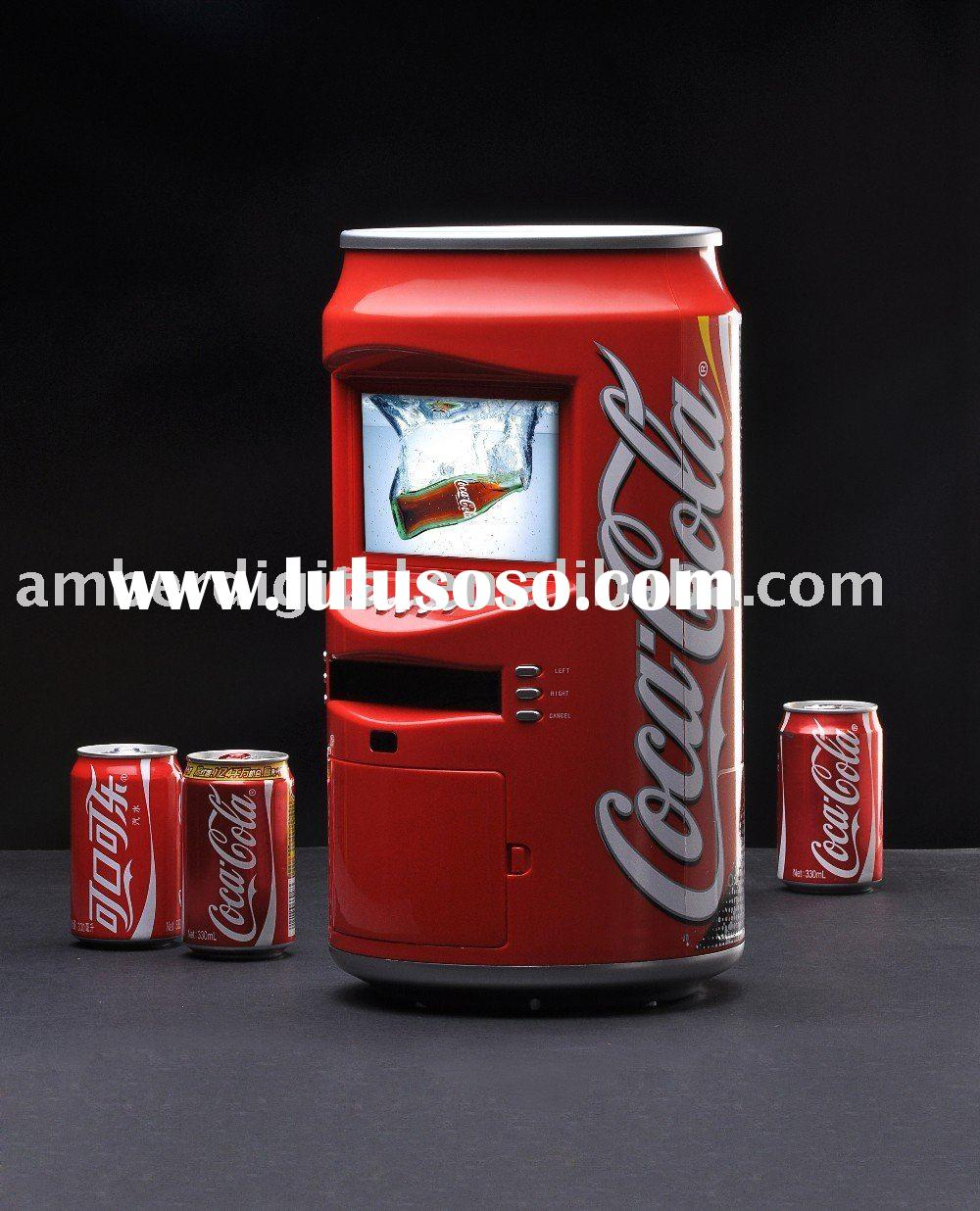 CoCa Cola/Beer LCD promotional business advertising AD Player,POP can AD player,Cola/ Beer POS POP p