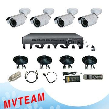 Completely Home Security System With Mobile Phone Surveillance(CE, RoHS, FCC)