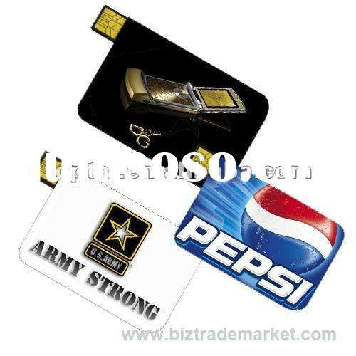 Credit Card usb flash,8GB USB 2.0 Flash pen drive