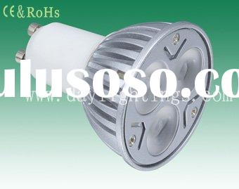 Cree dimmable led 9w GU10 spot lamp warm white and cool white