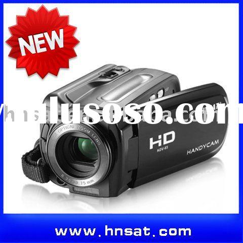 Customer electronics 720P HD compact camera with 5x optical zoom and 4x digital zoom