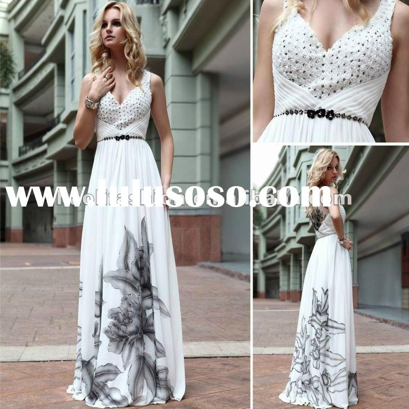DORISQUEEN(DORIS) Charming Elegant Unique Design Victoria Style One Shoulder Applique Wedding Gown&a