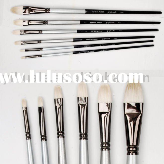 DS308 High quality Artist Oil Paint Brush