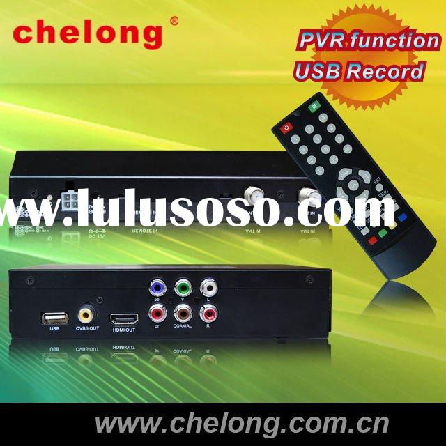 DVB-T Set Top Box with PVR function and USB record