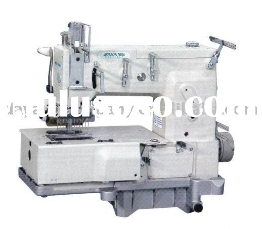 DY-1412P 12needle flat-bed double chain stitch sewing machine