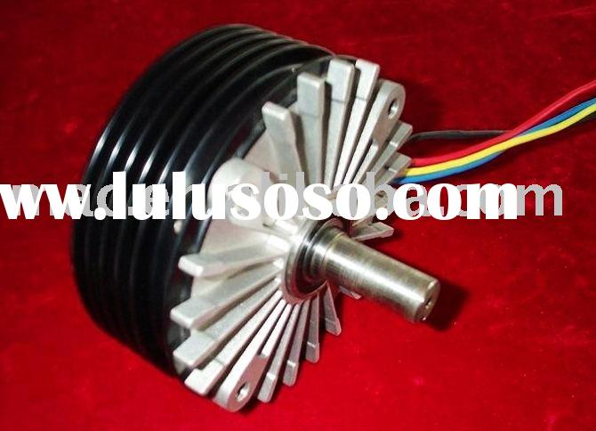 Deck motor, high power motor, high torque motor