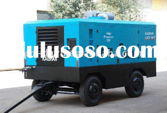 Disel Driven Portable Screw Air Compressor for drilling rig