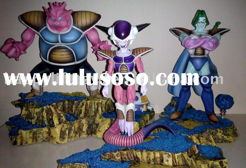 Dragonball Z - Freeza and his warriors, high quality resin models