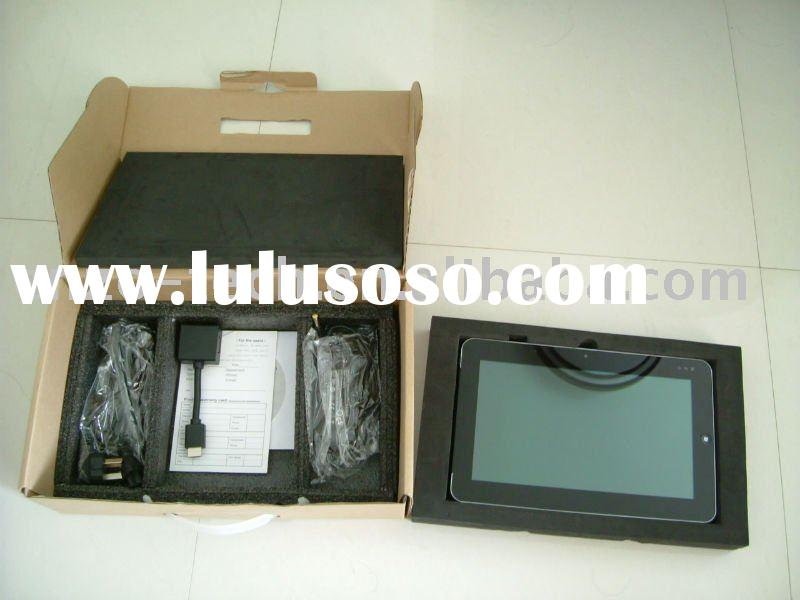 Dual OS win7 and android 10inch touchscreen dual core tablet pc