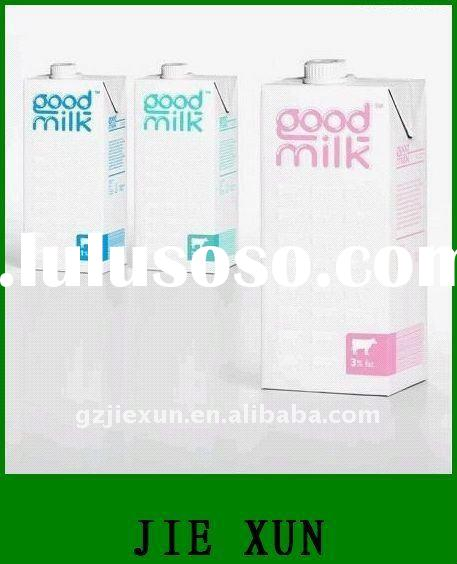 Eco-friendly paper milk pack box