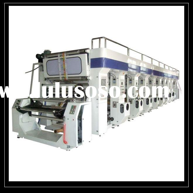 Eight Color High Speed Rotogravure Printing Machine