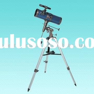 Equatorial Newtonian Reflector Telescope with 114mm Aperture and 500mm Focal Length