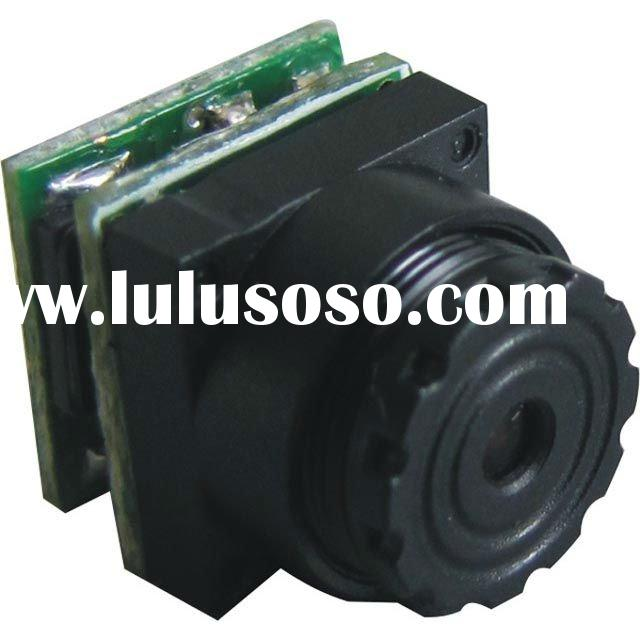 Factory price, 520TVL HD 0.008Lux Night Vision mini CCTV hidden camera video(1g,9.5x9.5x12mm)