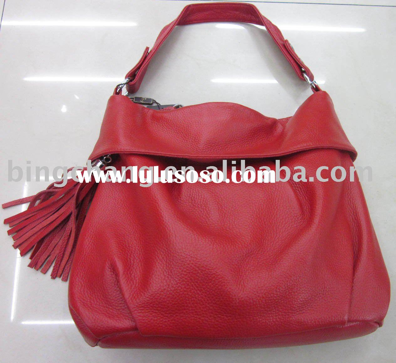 Fashion Cowhide Leather Material Ladies Bag,Beauty Case; Cosmetic Case; Vanity Bag; Cosmetic Bag; La
