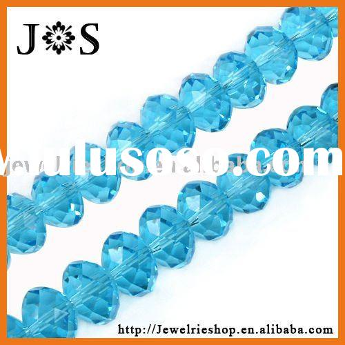 Fashion Jewelry Indicolite Crystal 5040 Briolette Faceted Glass Beads in Bulk 12mm