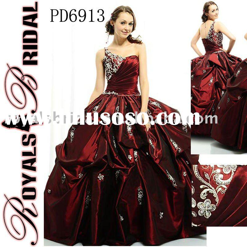Fashion Red Quinceanera Dress Ball Gown