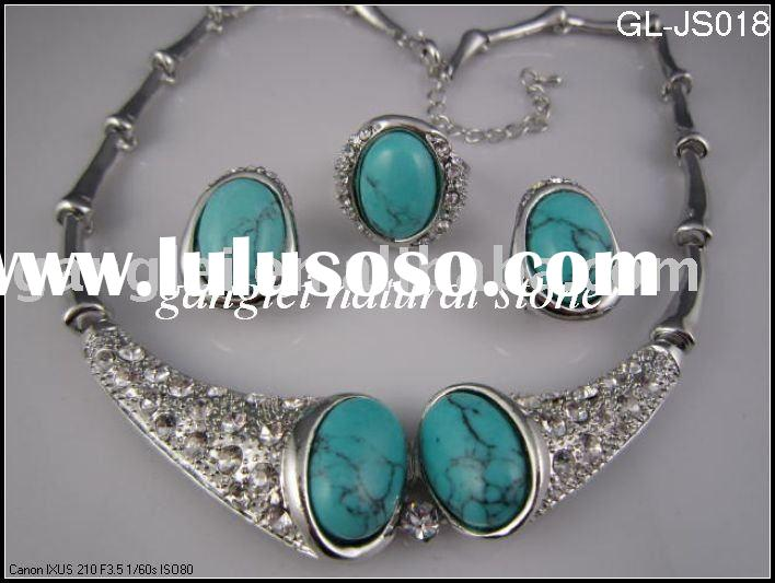 Fashion Silver Plated Jewelry Necklace Set