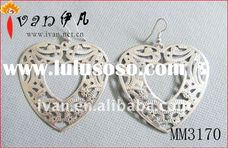 Fashion Stainless Steel Earrings Jewelry