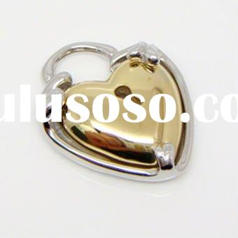 Fashion gold heart stainless steel pendants