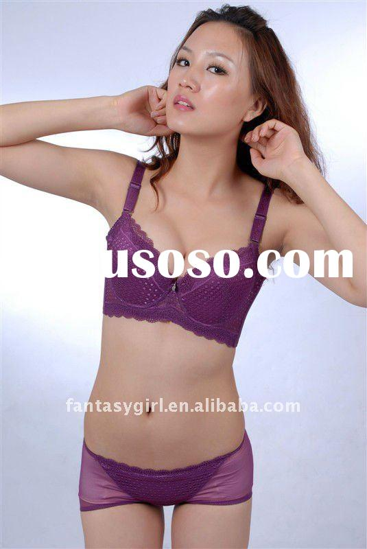 Fashion padded bra cheap price high quality