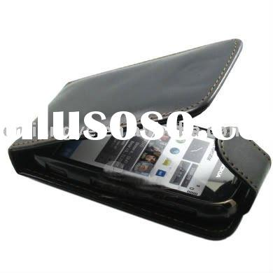 Flip PU Leather Pouch Case Cover for Nokia C7
