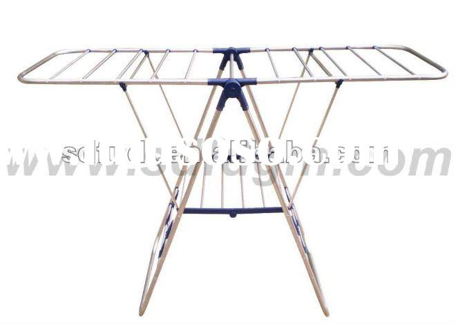 Foldable Laundry Drying Rack-stainless steel